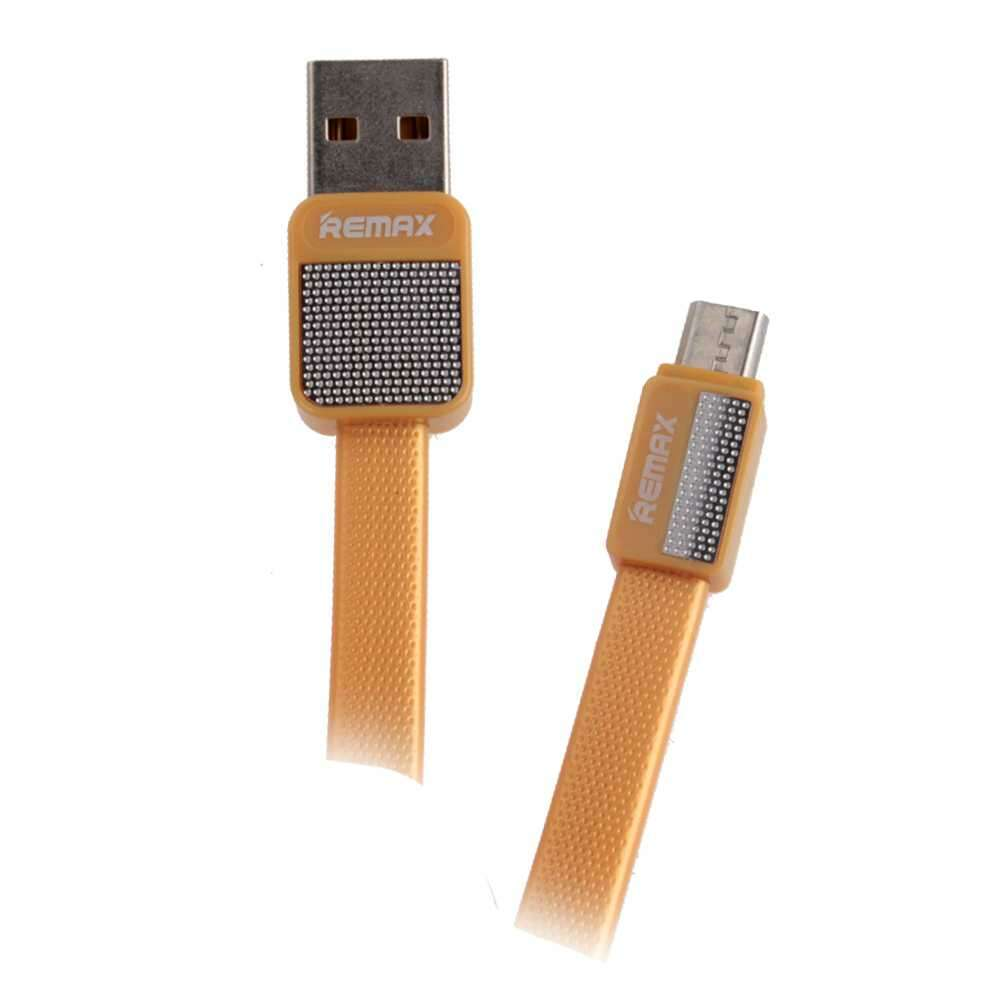 Кабель Remax Platinum Cable for micro RC-044m Gold