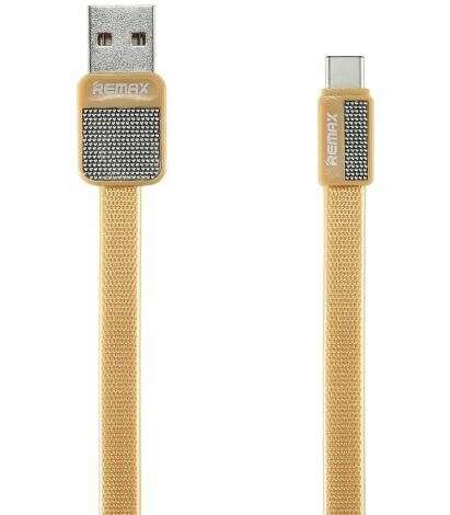 Кабель Remax Platinum Cable for iPhone RC-044i Gold