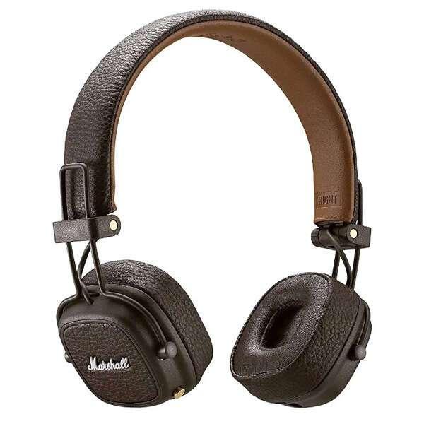 Наушники накладные Marshall Major III Bluetooth (Brown)