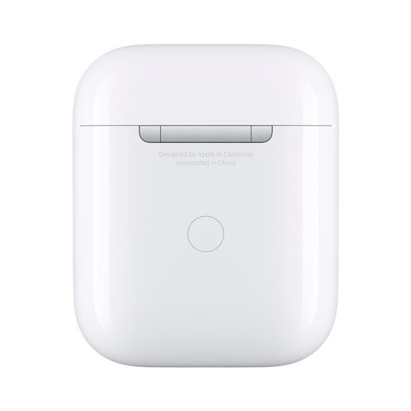 Футляр Apple Airpods для беспроводной зарядки MR8U2RU/A (White)