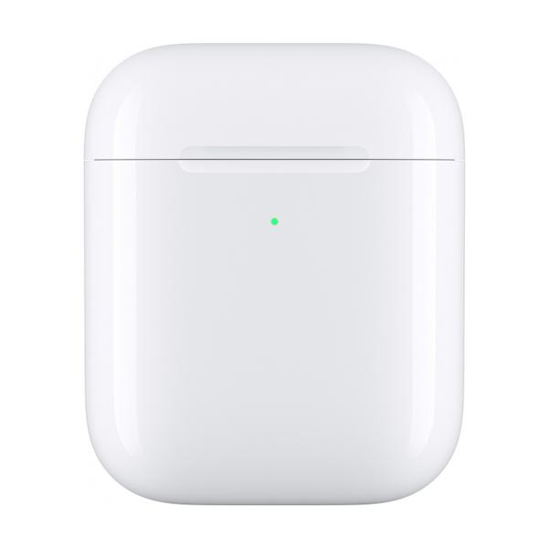 Футляр Apple Airpods с беспроводной зарядкой MR8U2RU/A (White)
