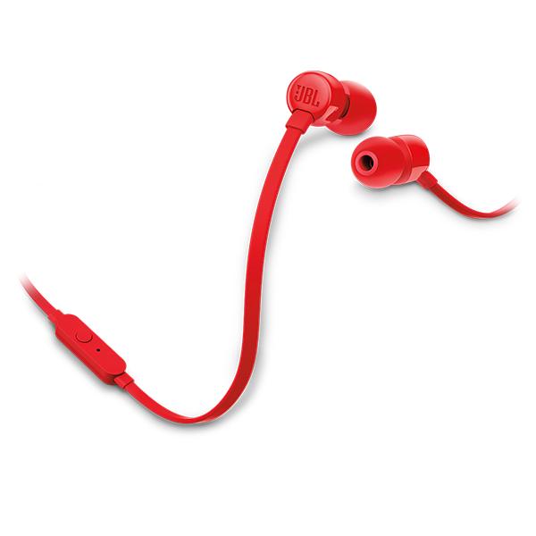 Наушники внутриканальные JBL T110 Red