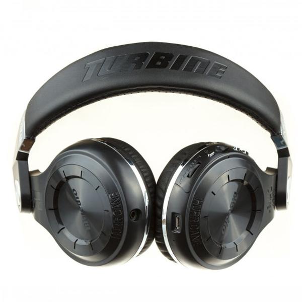 Наушники накладные Bluedio T2+ (Black)