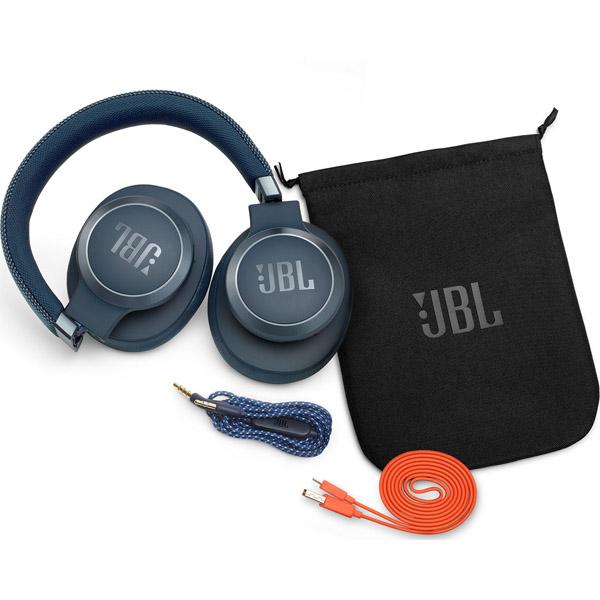 Наушники полноразмерные JBL LIVE 650BTNC (Blue)