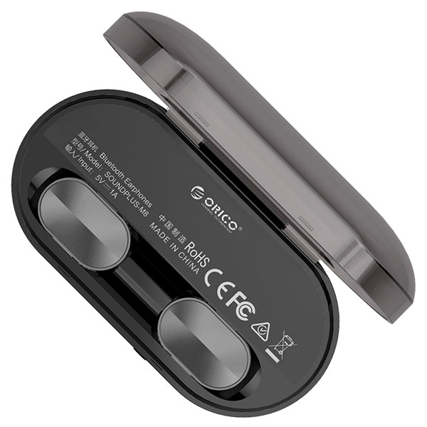 Наушники беспроводные Bluetooth Orico Soundplus-M8-GY-BP (Black)