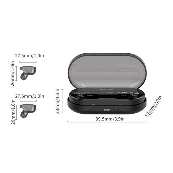 Наушники беспроводные Bluetooth Orico Soundplus-M8-GY-BP Black