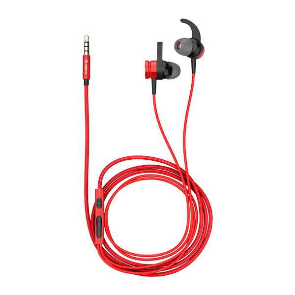 Наушники-вкладыши Orico Soundplus-RS1-RD Red