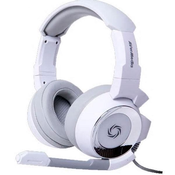 Игровые наушники AverMedia SonicWave GH335 40AAGH335APM White
