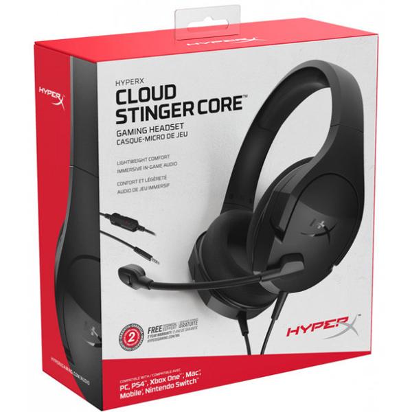Гарнитура игровая проводная HyperX Cloud Stinger Core PC (HX-HSCSC2-BK/WW)