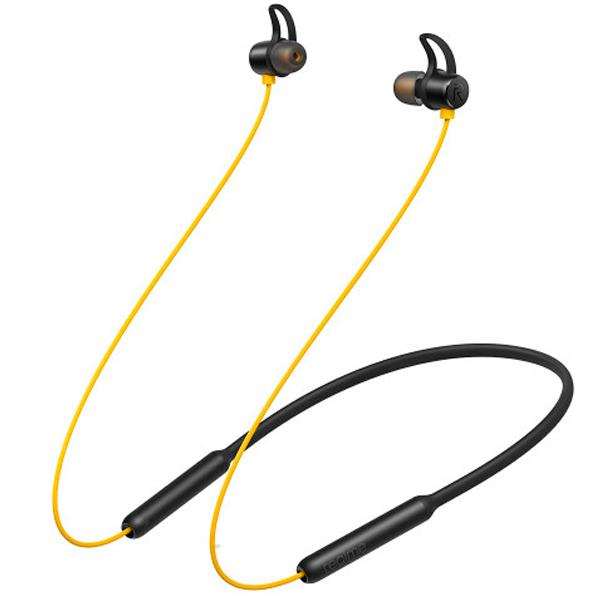Наушники внутриканальные Realme Buds Wireless RMA108 (Yellow)