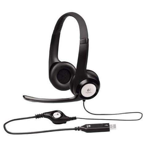 Гарнитура Logitech USB Headset H390 (Black)