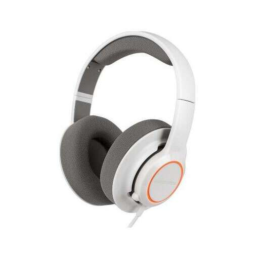 Игровые наушники SteelSeries Siberia Raw Prism Headset 61410 White