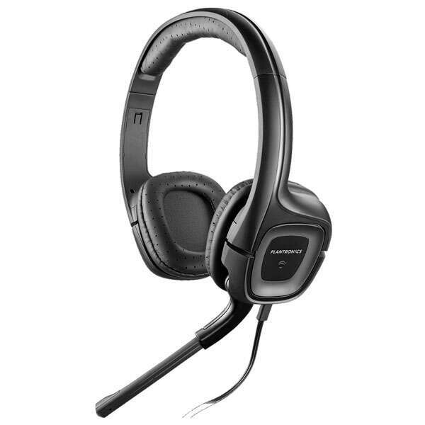 Наушники Plantronics Audio 355 Mono 79730-05 (Black)