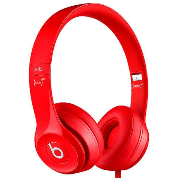 Накладные наушники Beats BT ON SOL2 RED (Solo 2 - Red)