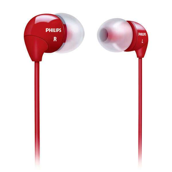 Наушники-вкладыши Philips SHE3590RD/10 (красный)