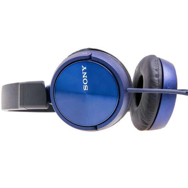 Накладные наушники Sony MDR-ZX310L (синие)