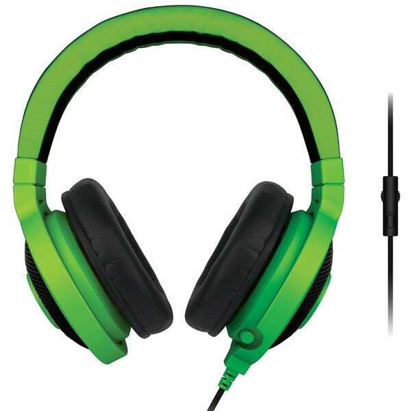 Игровые наушники Razer Kraken Pro Green 2015 (RZ04-01380200-R3M1)