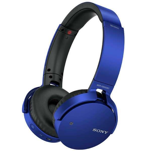 Наушники Sony MDR-XB650BTB.E Blue