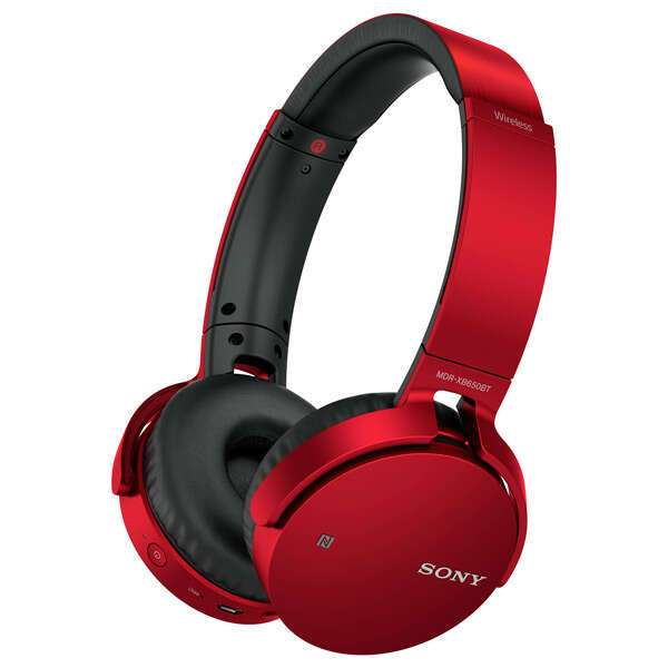 Наушники Sony MDR-XB650BTB.E (Красные)