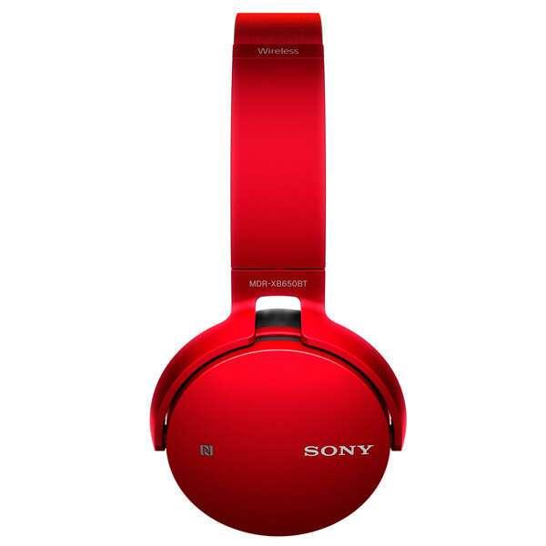 Наушники Sony MDR-XB650BTB.E Red