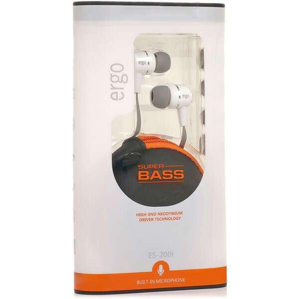 Наушники Ergo ES-200i (White)