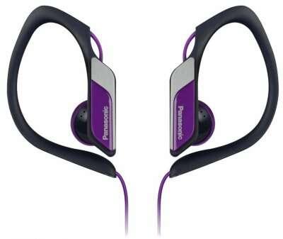Наушники клипсы Panasonic RP-HS34E-V Purple