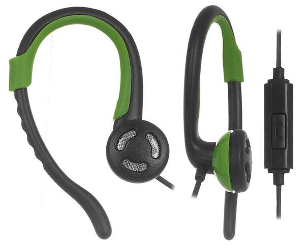 Наушники-клипсы Ergo VS-300 (Green)