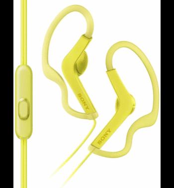 Наушники клипсы Sony MDRAS210APY.E (желтый)