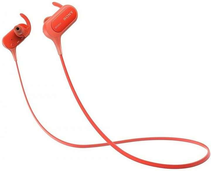 Наушники Sony MDR XB50BS Red