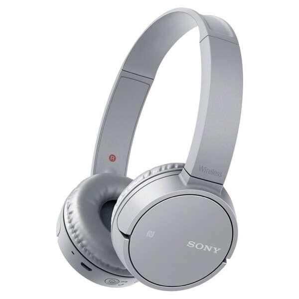 Наушники Sony MDRZX220BTH.E (серый)