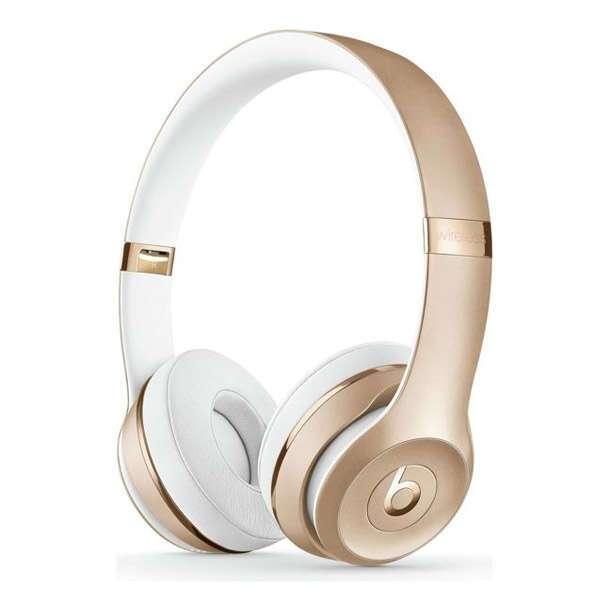 Наушники беспроводные Beats Solo3 Wireless Gold