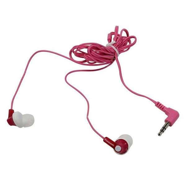 Наушники Panasonic RP-HJE118GU (розовые)