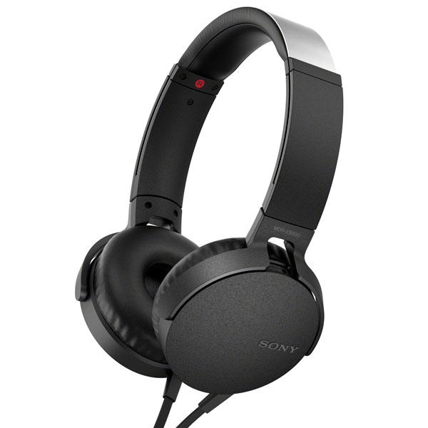 Наушники накладные Sony MDRXB550APB.E (Black)