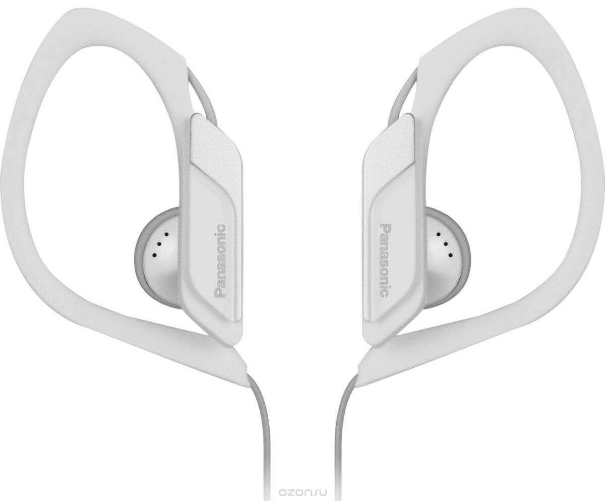 Наушники клипсы Panasonic RP-HS34E-W(белый)