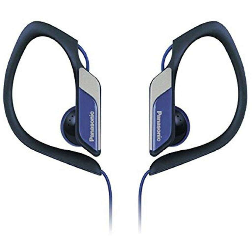 Наушники клипсы Panasonic RP-HS34E-A(синий)