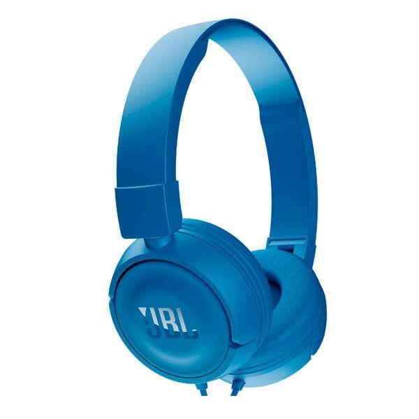 Наушники полноразмерные JBL  T450 Blue (JBLT450BLU)