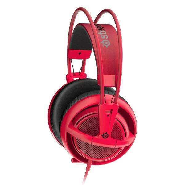 Гарнитура Steelseries Siberia 200 Forged Red