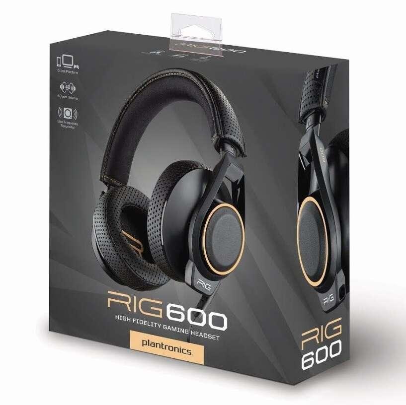 Наушники-гарнитура Plantronics RIG 600 206806-05 (Black)