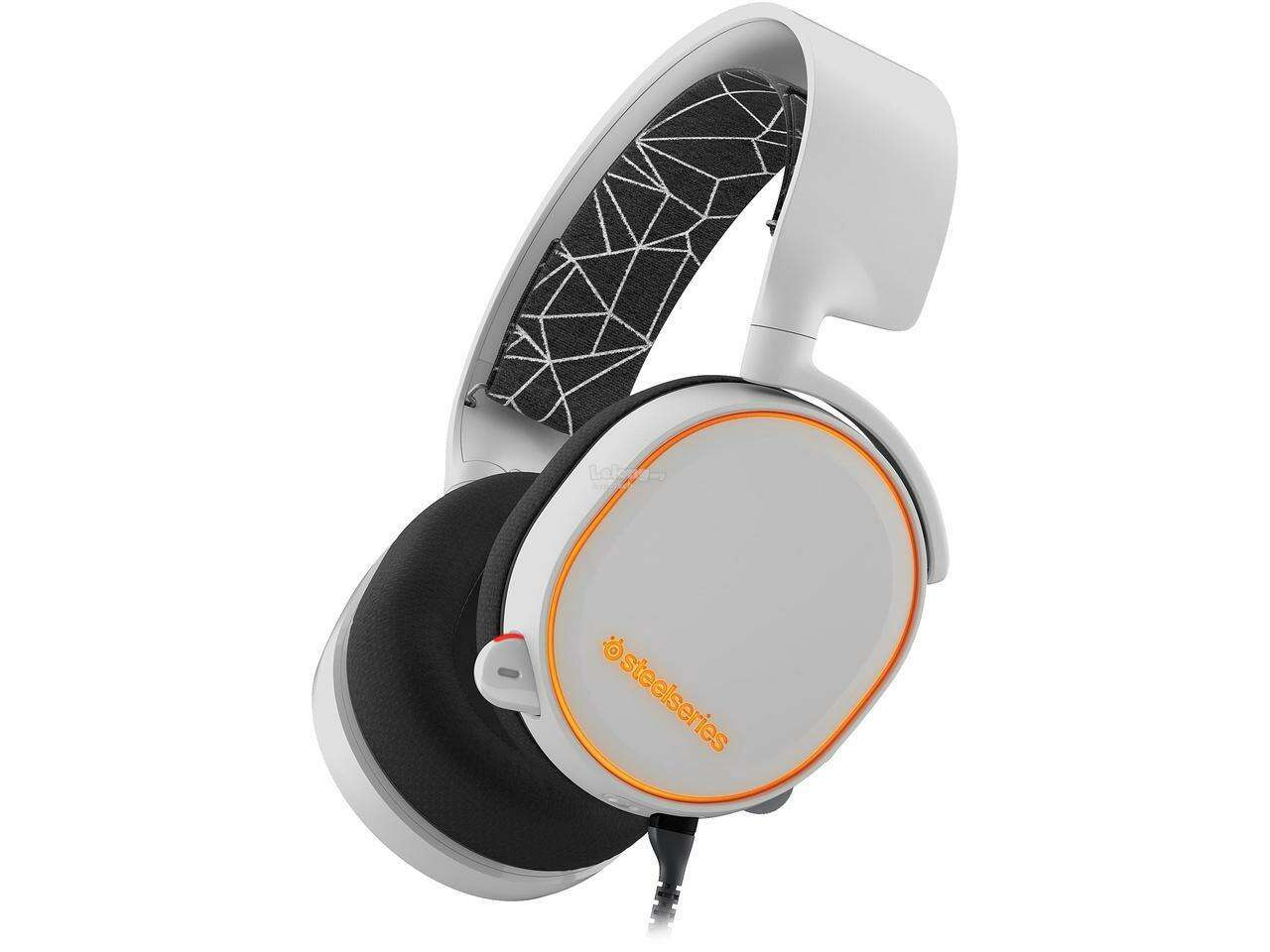 Гарнитура SteelSeries  Arctis 5 White