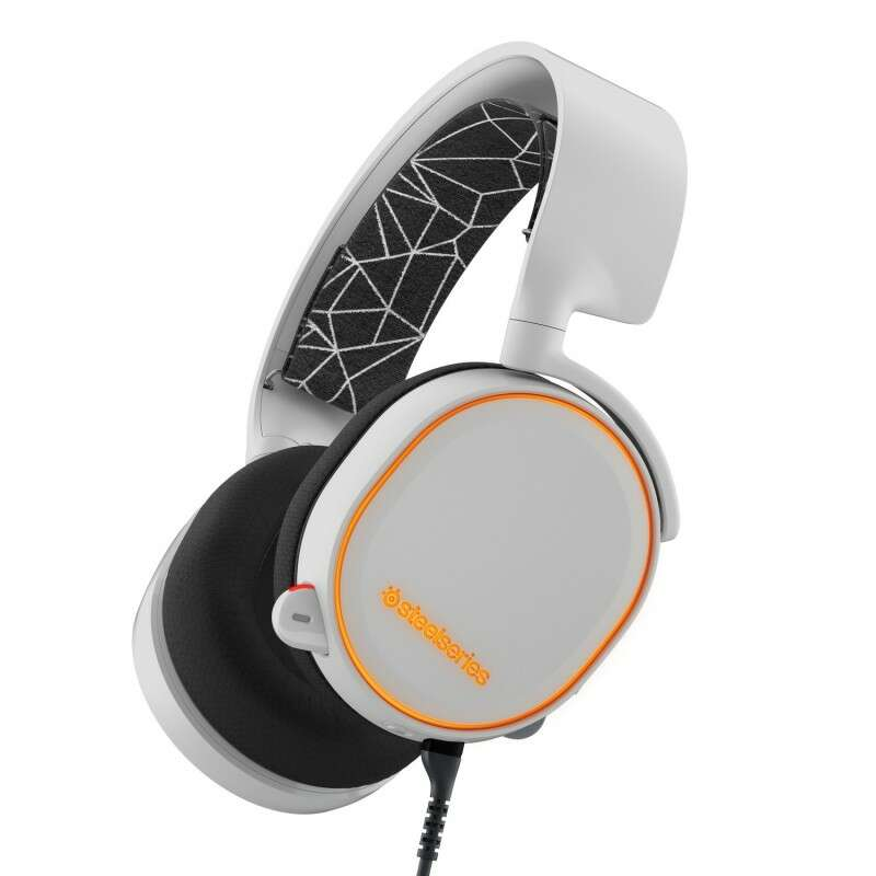 Гарнитура SteelSeries  Arctis 3 White