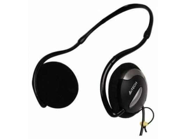 Наушники+микрофон A4tech HS-24 Black