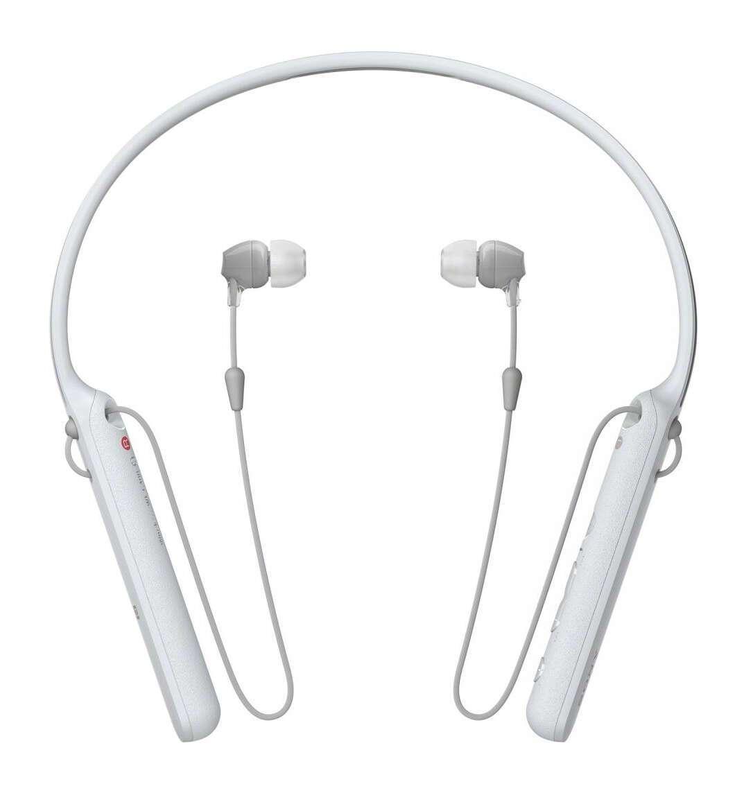 Наушники Sony WI-C400/WZ (белый)