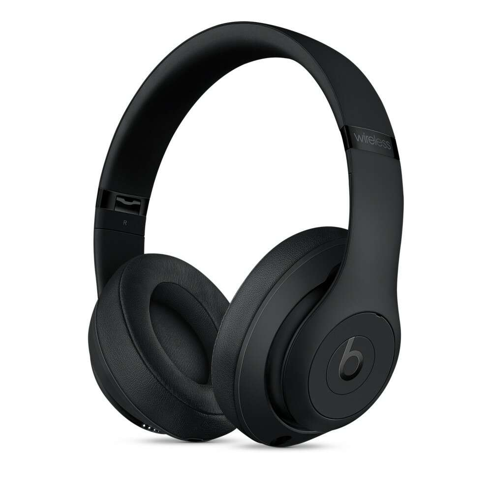 Наушники Beats Studio3 Wireless Over-Ear Headphones-Matte Black (MQ562ZM/A)