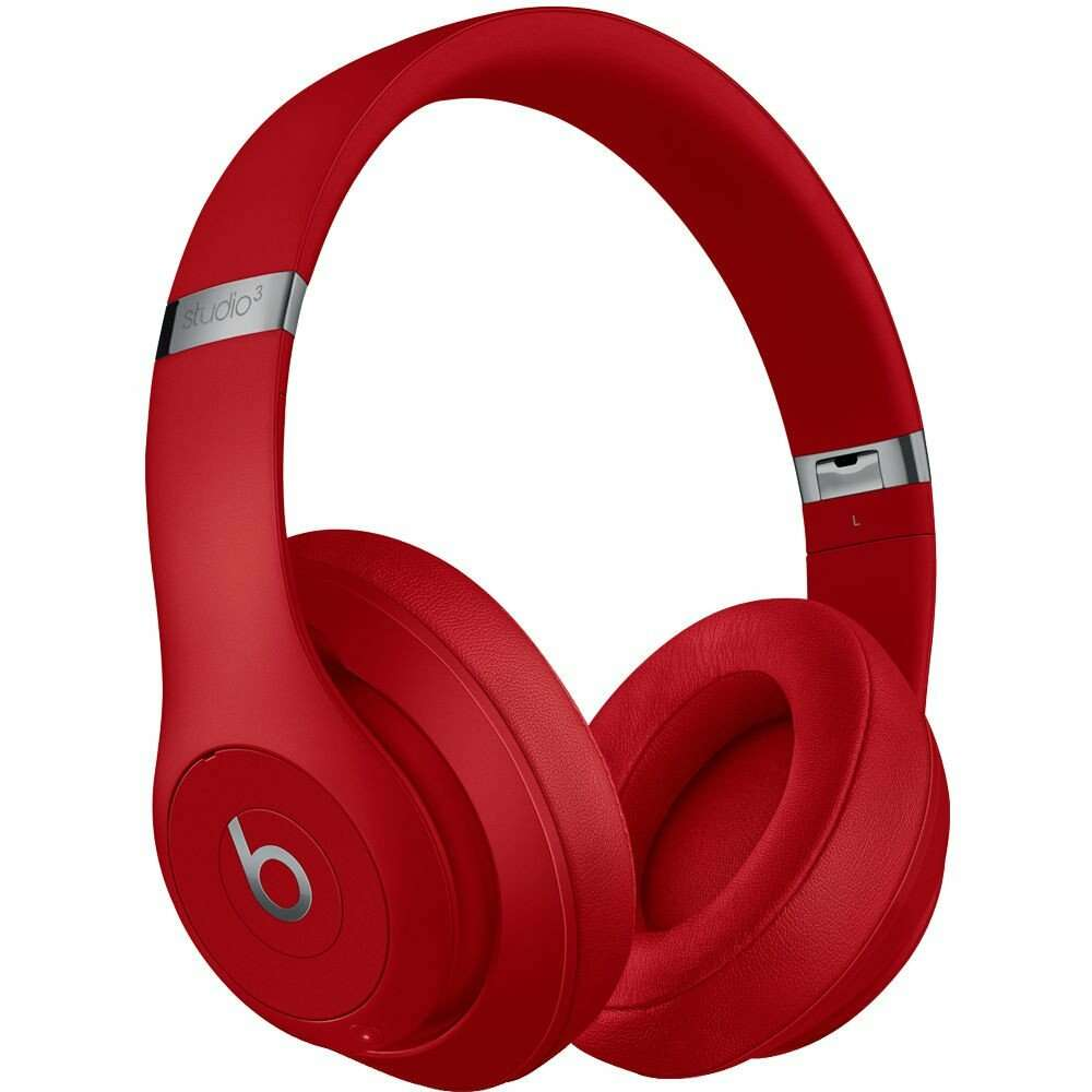 Наушники Beats Studio3 Wireless Over-Ear Headphones - Red (MQD02ZM/A)/