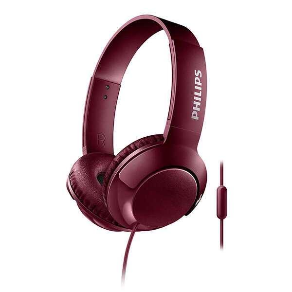 Наушники накладные Philips SHL3075RD (красный)