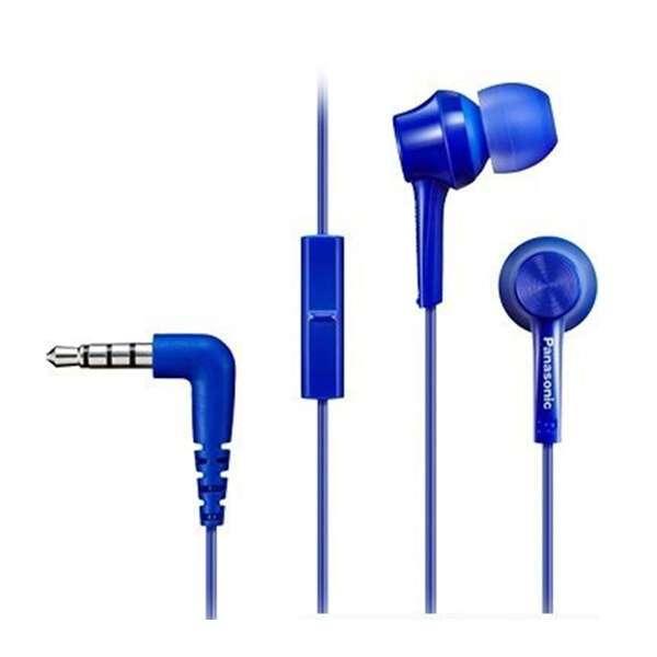Наушники Panasonic RP-TCM115GCA (синий)