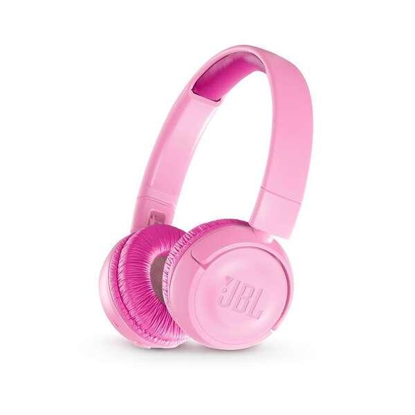 Наушники накладные JBL JBLJR300BTPIK (Pink)