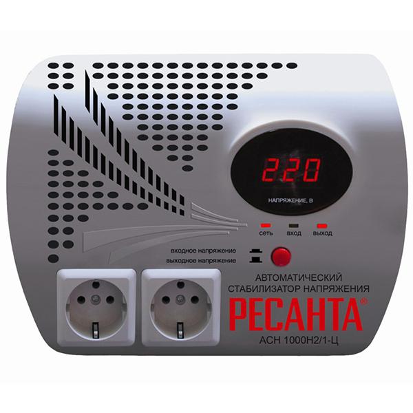 Стабилизатор цифровой Ресанта LUX АСН 1000Н2/1-Ц (настенный)