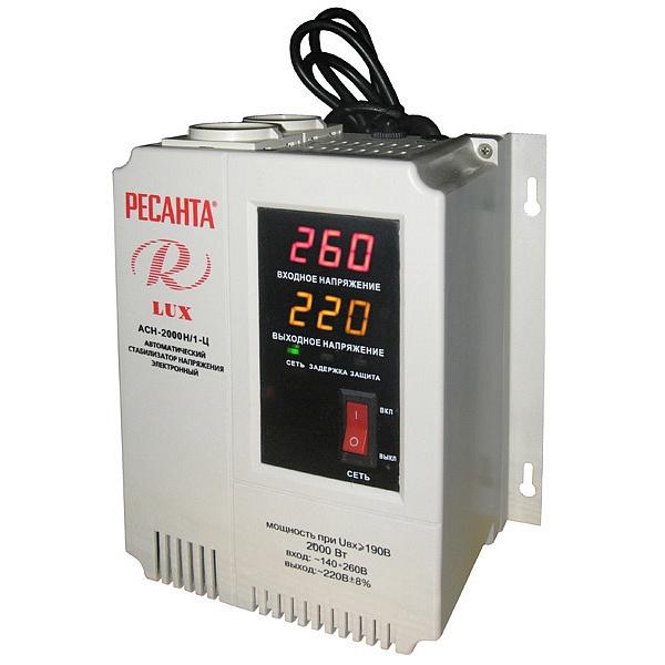 Стабилизатор цифровой Ресанта 2000/1 АСН Ц LUX