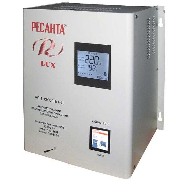 Стабилизатор цифровой Ресанта 12000/1 АСН Ц LUX